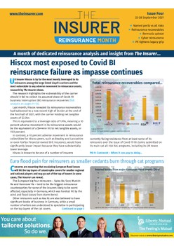 Reinsurance Month Weekly Edition: Issue Four