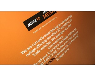Mitre10 confident hack not behind online outage - Stuff