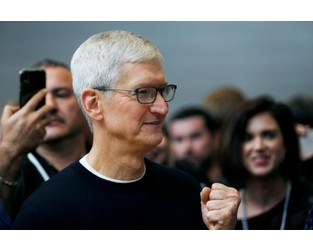 Apple CEO calls for stricter corporate, government climate goals at U.N. summit - Reuters