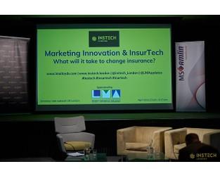Marketing Innovation & Insurtech event, 30th April 2019