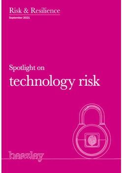 Spotlight on technology risk