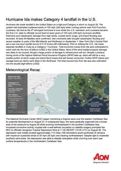 Hurricane Ida makes Category 4 landfall in the U.S.