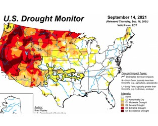Weather favors Corn Belt harvest activity, U.S. Drought Monitor report - Agriculture.com