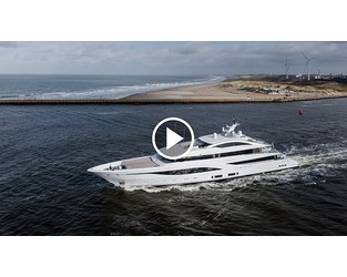 Video: New 75m Feadship Arrow on sea trials - SuperYacht Times