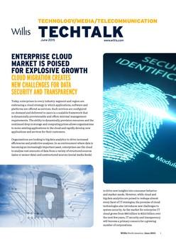 TechTalk: Enterprise Cloud Market is Poised for Explosive Growth