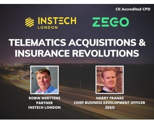 Webcast: Zego - Telematics Acquisitions and Insurance Revolutions