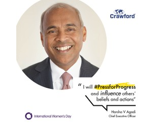 Crawford pledges to help women achieve ambition