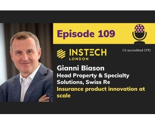 Gianni Biason: Head Property & Specialty Solutions, Swiss Re: Insurance product innovation at scale