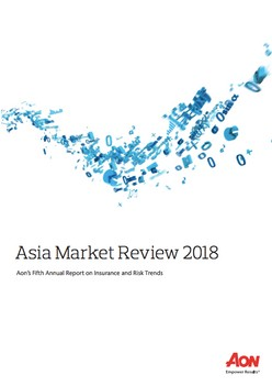Asia Market Review 2018