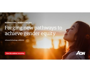 Webcast: Forging new pathways to achieve gender equity