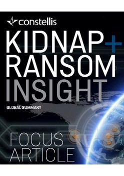 Constellis Kidnap & Ransom Insight - January 2019