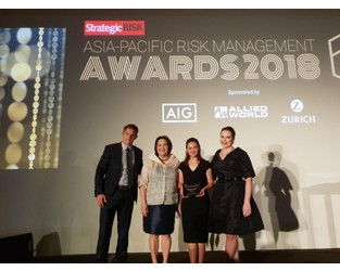 Find out who won big at the Asia-Pacific Risk Management Awards 2018