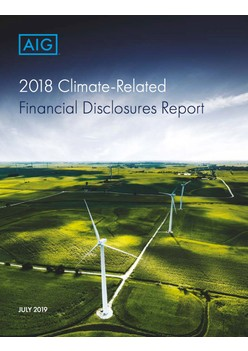2018 Climate-Related Financial Disclosures Report