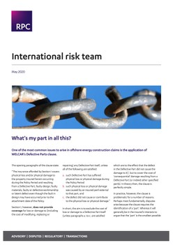 International risk team - What's my part in all this?