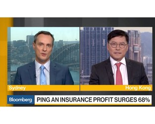 Video: Ping An Insurance Co-CEO: 'Very Happy' With Results - Bloomberg