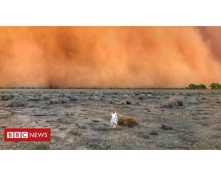 Australia's extreme weather in pictures - BBC