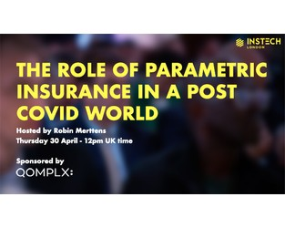Webcast: The Role of Parametric Insurance in a Post Covid World - Bright Talk