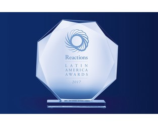 Reactions unveils 2017 LatAm winners