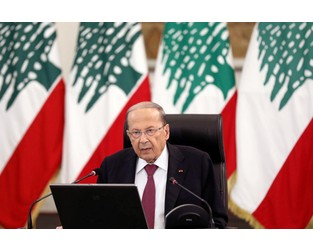 'Impossible' that Beirut port blast was caused by Hezbollah arms, says president - Reuters