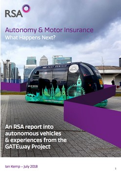 Autonomy & Motor Insurance - What Happens Next?