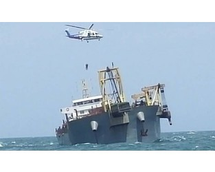Cargo ship aground, crew evacuated, South China sea - FleetMon