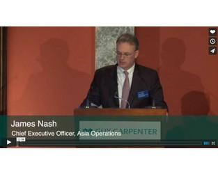 James Nash: Guy Carpenter Monte Carlo Press Briefing, 2015