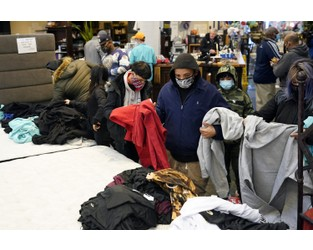 Massive storms, outages force tough decisions amid pandemic - AP