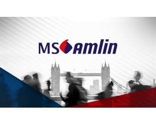 MS Amlin working with Evercore as it looks for UK P&C sale