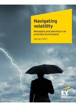 Navigating volatility: Messaging and planning in an uncertain environment