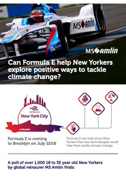 Can Formula E help New Yorkers explore positive ways to tackle climate change?