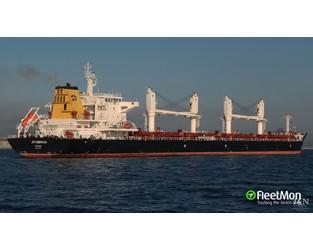 Tragic accident in South Atlantic on Croatian bulk carrier, 2 dead - FleetMon