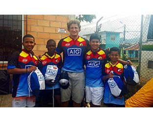 AIG Colombia Empowering Youth through Sports