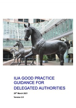 Delegated Authority Good Practice Guide