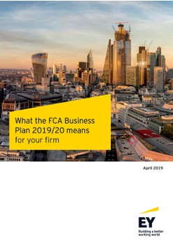 What the FCA Business Plan 2019/20 means for your firm