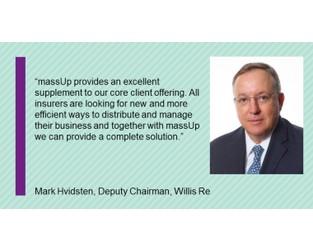 massUp enters into strategic partnership with Willis Towers Watson