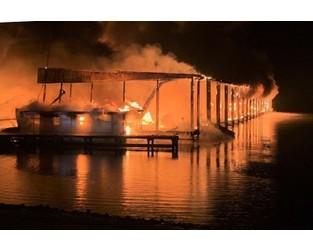 Alabama fire chief confirms deaths as fire destroys 35 boats - AP