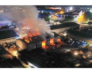 Fire crews leave scene of major blaze - Kent Online