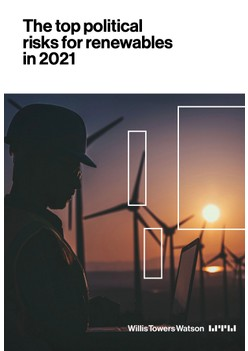 The top political risks for renewables in 2021