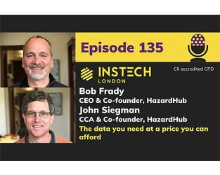 Bob Frady & John Siegman: CEO & CCA, HazardHub: The data you need at a price you can afford