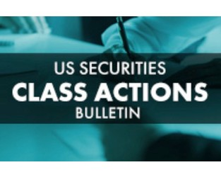 US Securities Class Actions Bulletin - Q3 2019