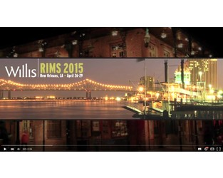 RIMS 2015: Dominic Casserley in New Orleans