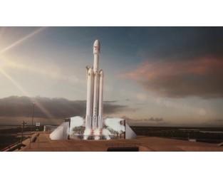 Falcon Heavy Animation - YouTube