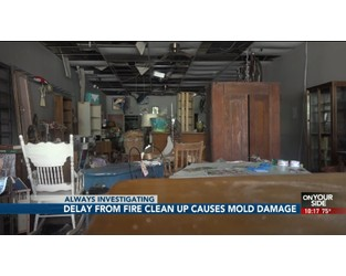 Fremont antique store suffers fire, mold; Owners frustrated with insurance - WOWT