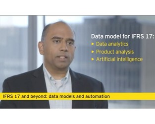 IFRS 17 and beyond: data models and automation