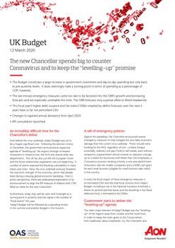 UK Budget 2020