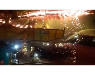 Fire hits Vale's Ponta da Madeira terminal - Splash