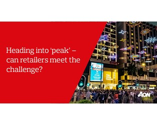 Heading into 'peak' – can retailers meet the challenge? - Mike Jacobs