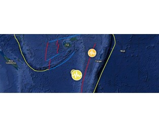 Deep M6.1 earthquake hits south of the Fiji islands - The Watchers