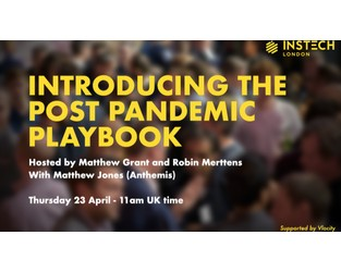 Webcast: Introducing the Post Pandemic Playbook - Bright Talk