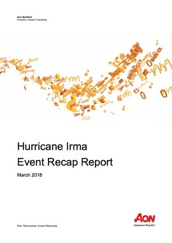 Hurricane Irma Event Recap Report March 2018